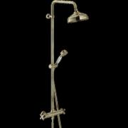 détails CARLOS PRIMERO Colonne de douche thermostatique Vieux bronze