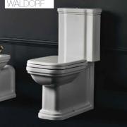 détails WC Céramique WALDORF Réservoir attenant