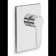 détails FACADE DOUCHE ENCASTREE NEW DAY CHROME 1 SORTIE