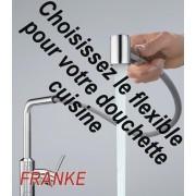 détails flexible douchette pour mitigeur cuisine franke