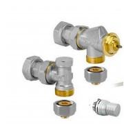 détails Kit robinetterie pour radiateur fabrication spéciale JAGA