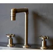 Mélangeur lavabo 3 Trous INDUSTRY