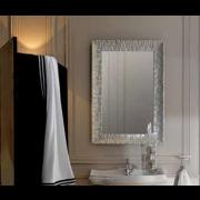 détails Miroir rétro cadre bois Aluminium 90 X 70 cm