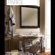 détails Piétement laiton pour lavabo PARIGI