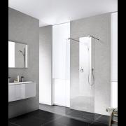 détails ROTHALUX Paroi fixe pour douche ouverte