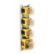 détails BATI 3 SORTIES MECANISME BOX THERMOSTATIQUE ENCASTRE
