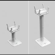 détails Pied pour radiateur Brugman Vertical et horizontal
