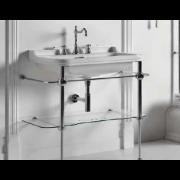 détails PIEDS LAITON  pour lavabo WALDORF 80 cm