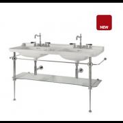 détails PIEDS LAITON pour lavabo WALDORF 150 cm