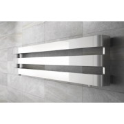détails Radiateur Horizontal STEP IRSAP Finition Chrome