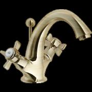 détails RITZ Mélangeur Lavabo Vieux bronze