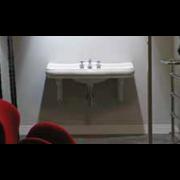 détails Support céramique pour lavabo PARIGI