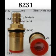 """détails Têtes Céramiques PAINI 1/2"""" 8231"""