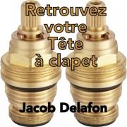 Paire Têtes à Clapet Mélangeur JACOB DELAFON
