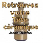 Paire Têtes céramiques Mélangeur JACOB DELAFON
