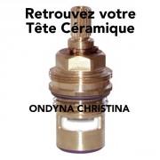 détails Tête céramique Robinetterie Ondyna
