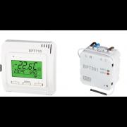détails Kit Thermostat blanc et Récepteur encastré sans fil