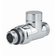 "T de réglage MM DROIT 1/2"" 24/19 Finition : Nickel Satin"