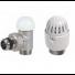 Robinet thermostatique complet 90° MM  1/2