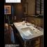 PIEDS LAITON pour lavabo WALDORF 150 cm