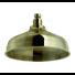 GRAZIA ANTICA RITZ  Pomme de douche droite Vieux bronze